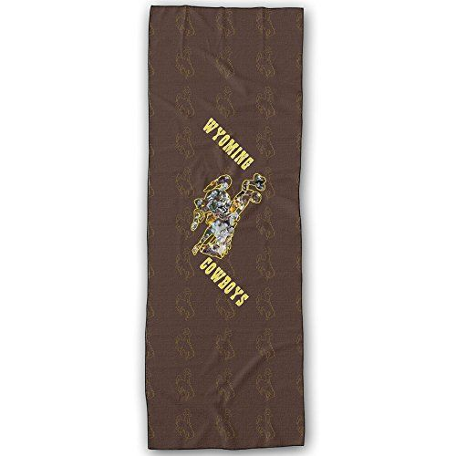 Wyoming Cowboys Logo Yoga Mat Towel Want To Know More Click On The Image This Is An Amazon Affiliate Link And I R Yoga Accessories Yoga Mat Towel Logo Yoga