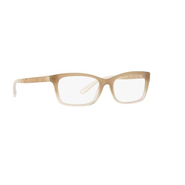 120ce0bd0a Burberry BE2220 3574 Matte Brown Gradient Rectangle Eyeglasses with 52mm  Lens