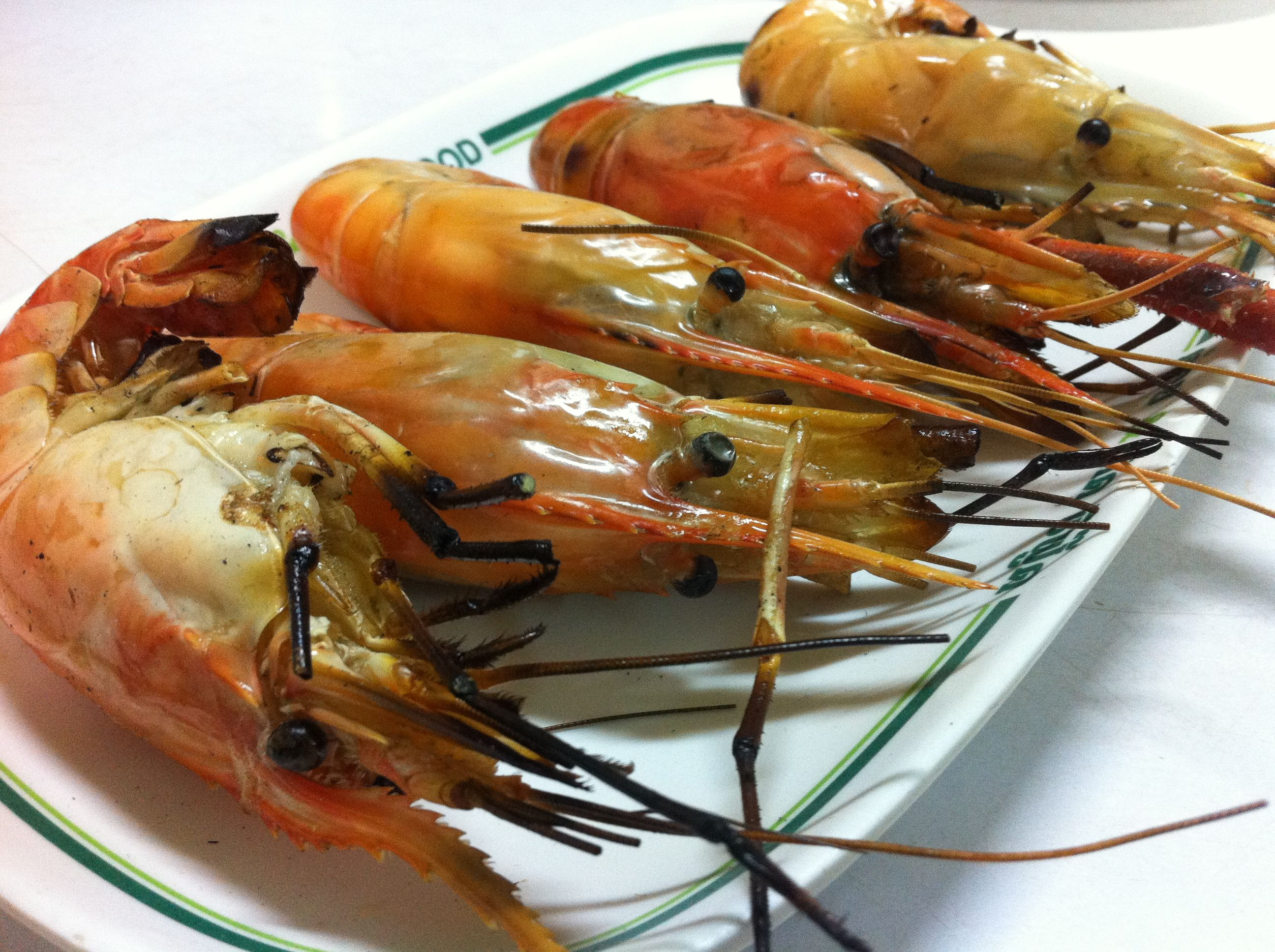 Awesome barbecue prawns in bangkok follow the link to read