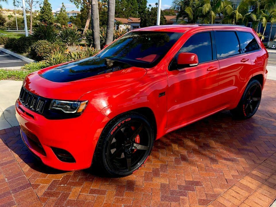 2012 Jeep Grand Cherokee Srt8 New 2019 Trackhawk Body Upgrade Clean Gorgeous Red Exterior On Jeep Grand Cherokee Srt Cherokee Srt8 Jeep Grand Cherokee Diesel