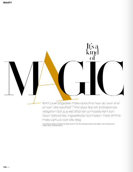 typography in JAN magazine, the Netherlands. pdf found on