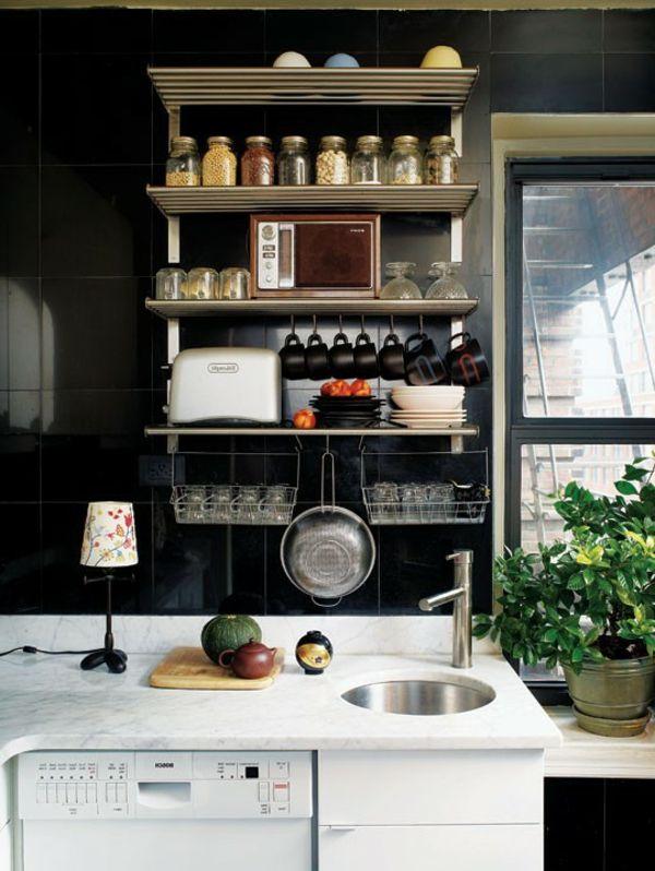 comment amenager une petite cuisine pinterest amenagement petite cuisine petite cuisine. Black Bedroom Furniture Sets. Home Design Ideas