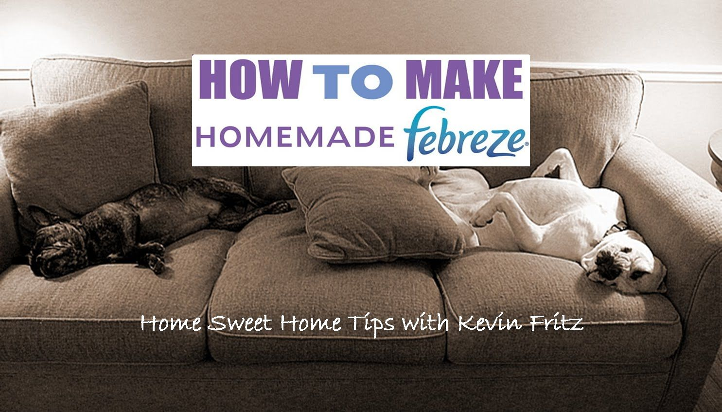 Make Your Home Fabric Freshener for Pennies (With images