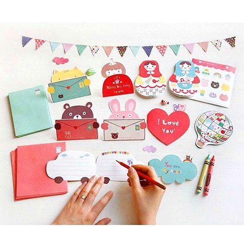 The Sweet Tidings Cute Stuff From The Kawaii Notebook Kawaii Notebook Cute Valentines Card Cards