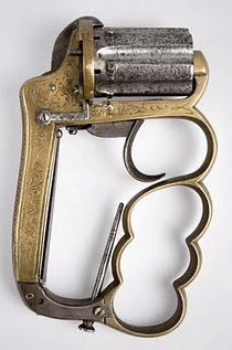Bronze, cool weapon, old, tuff, gangster, concealable, portable