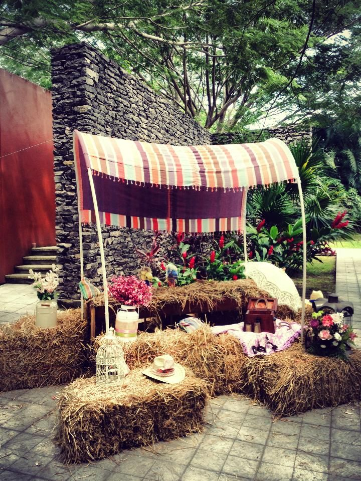 Country party decoration by espacioalcubo eventos colima for Decoration western country