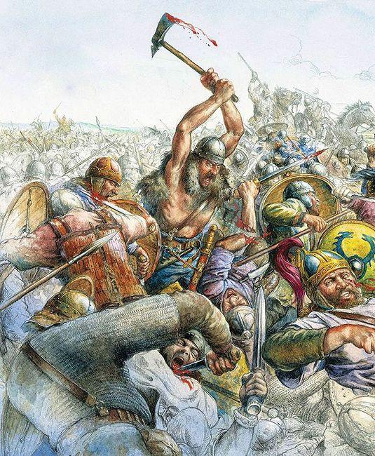 """""""La victorie romaine sur les Huns est surtout celle des Wisigoths sur les Ostrogohts"""""""