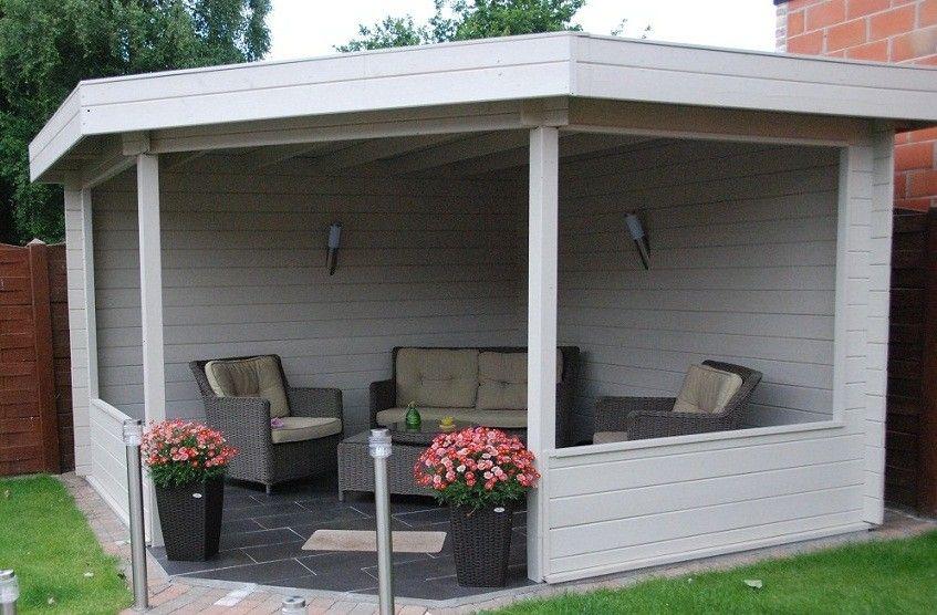 prieel voor in de tuin garden pinterest design gartenhaus g rten und gartenh user. Black Bedroom Furniture Sets. Home Design Ideas