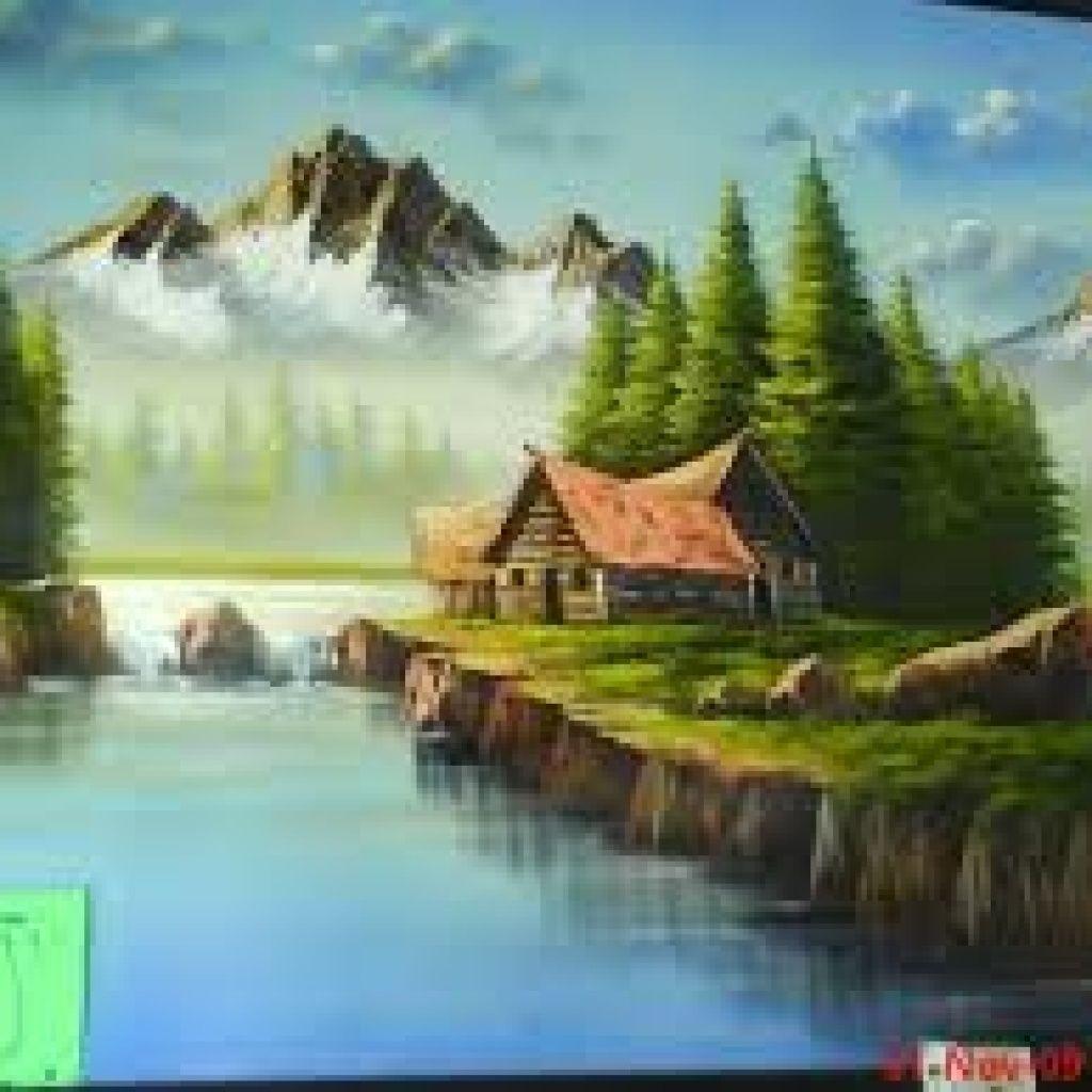 Humildad Proviene De Humus Paisaje Para Pintar Como Pintar En Oleo Pinturas Hermosas
