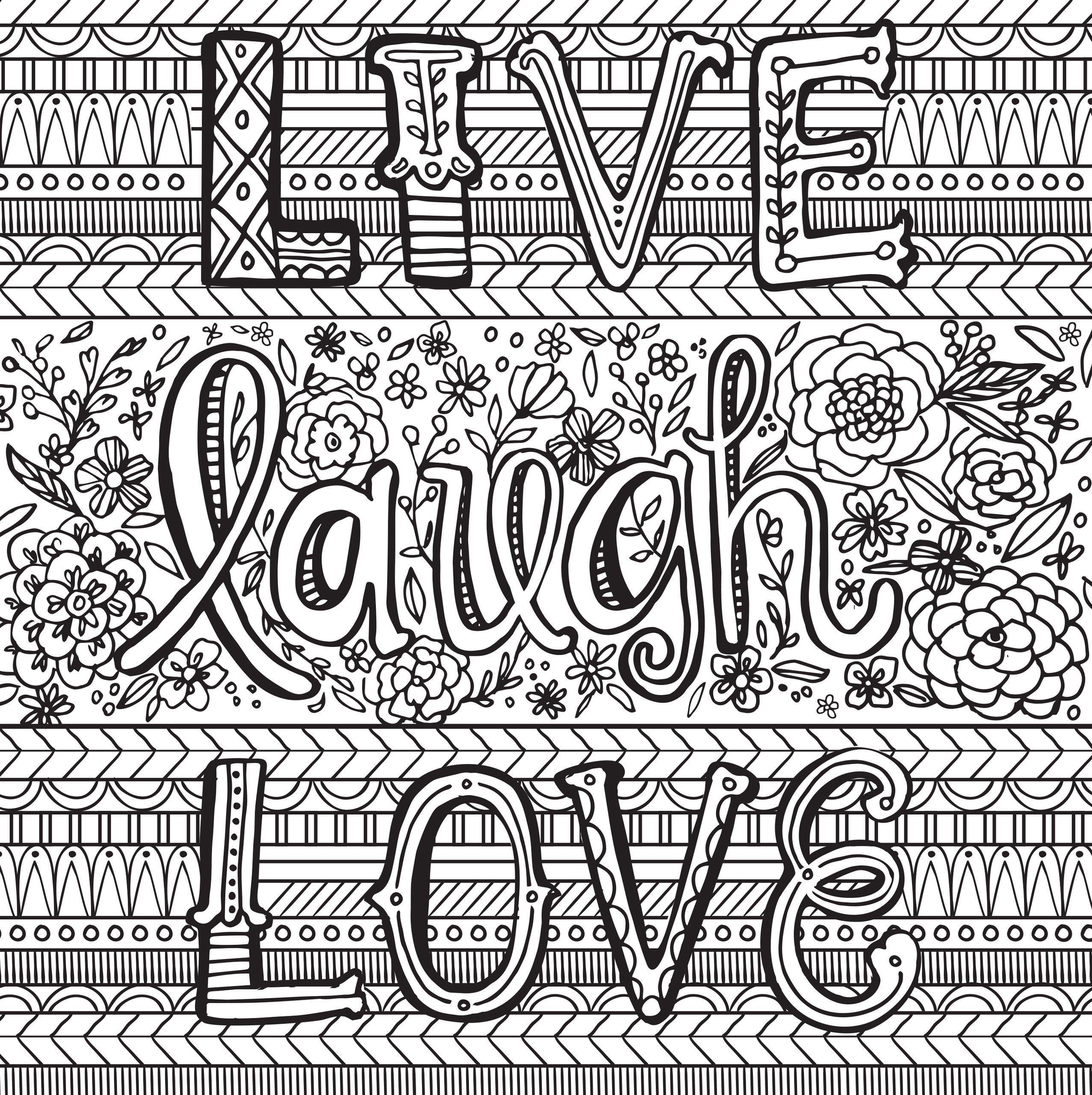 Joyful Inspiration Adult Coloring Book 31 Stress