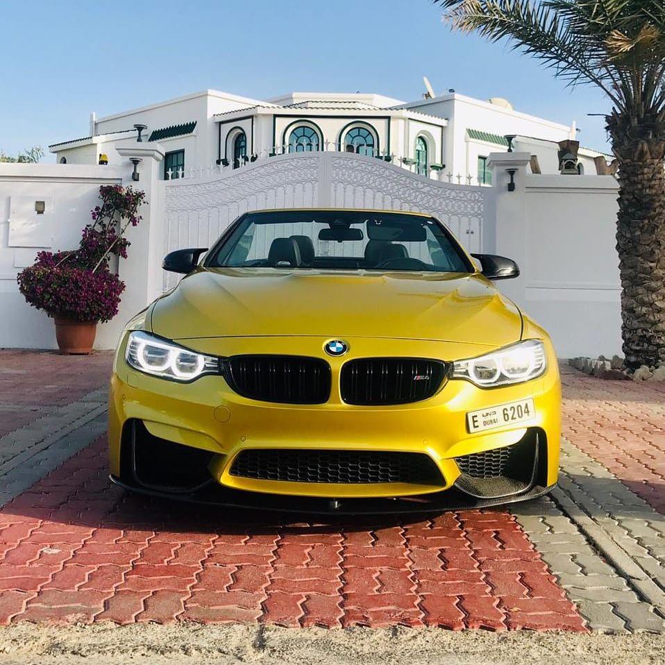 BMW M4 Cabriolet Rental Dubai in 2020 Luxury car rental