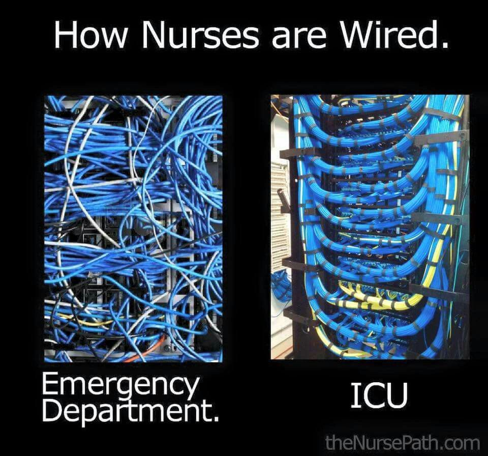 This Is How Nurses Are Wired Interesting  A Nurses Life -9289
