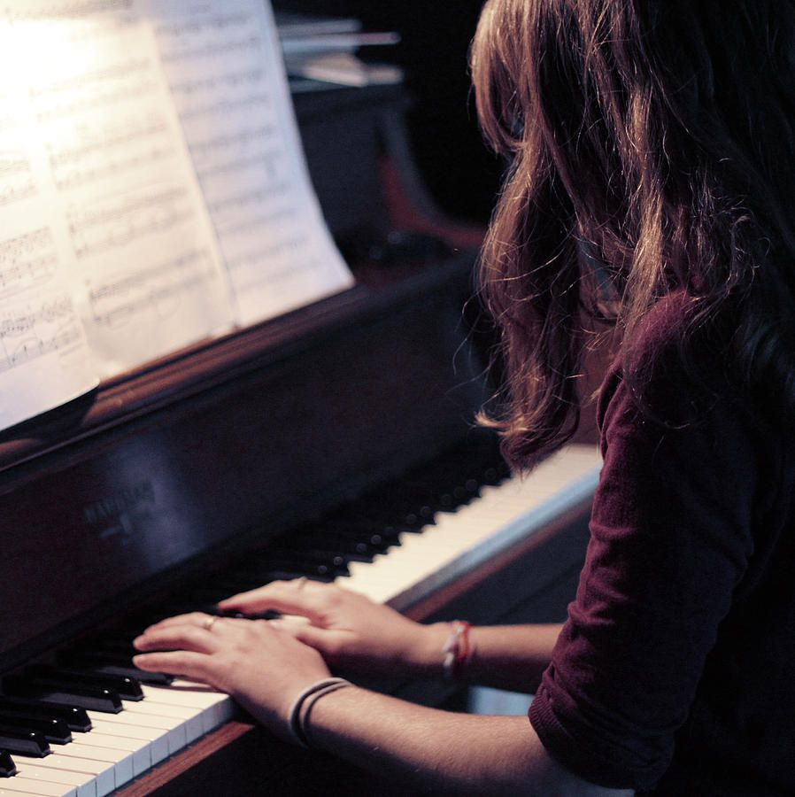 Image result for piano girl