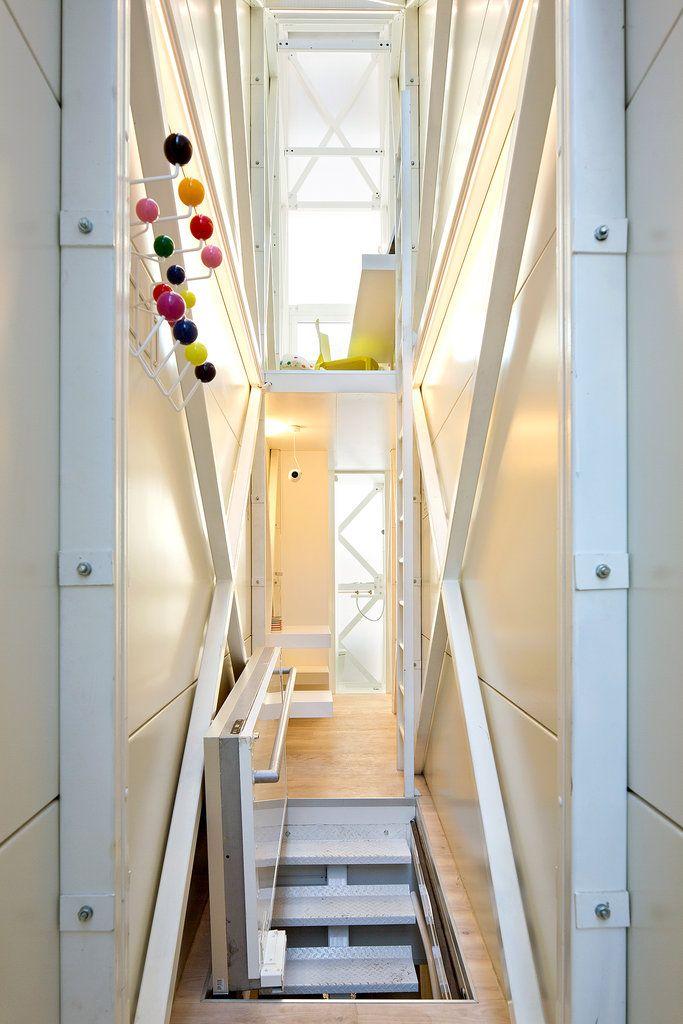 A Slice Of A House In Poland   Slide Show   NYTimes.com · Moderne HäuserKleine  HäuserRaumschiffArchitektur InnenarchitekturHaus InnenräumeKleine ...