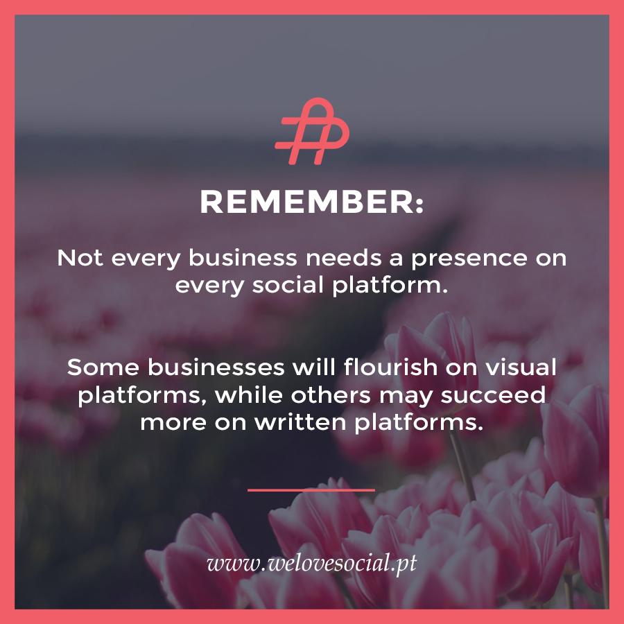 """Perante a diversidade de redes sociais existentes, a questão que surge frequentemente é: """"qual ou quais são as redes sociais mais indicadas para promover a minha marca ou negócio?"""""""