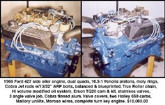 Ford 427 Side Oiler Performance Engines Big Blocks Ford Fairlane