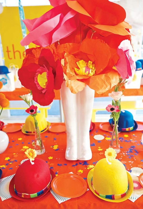 April Showers Bring May Flowers Birthday Party