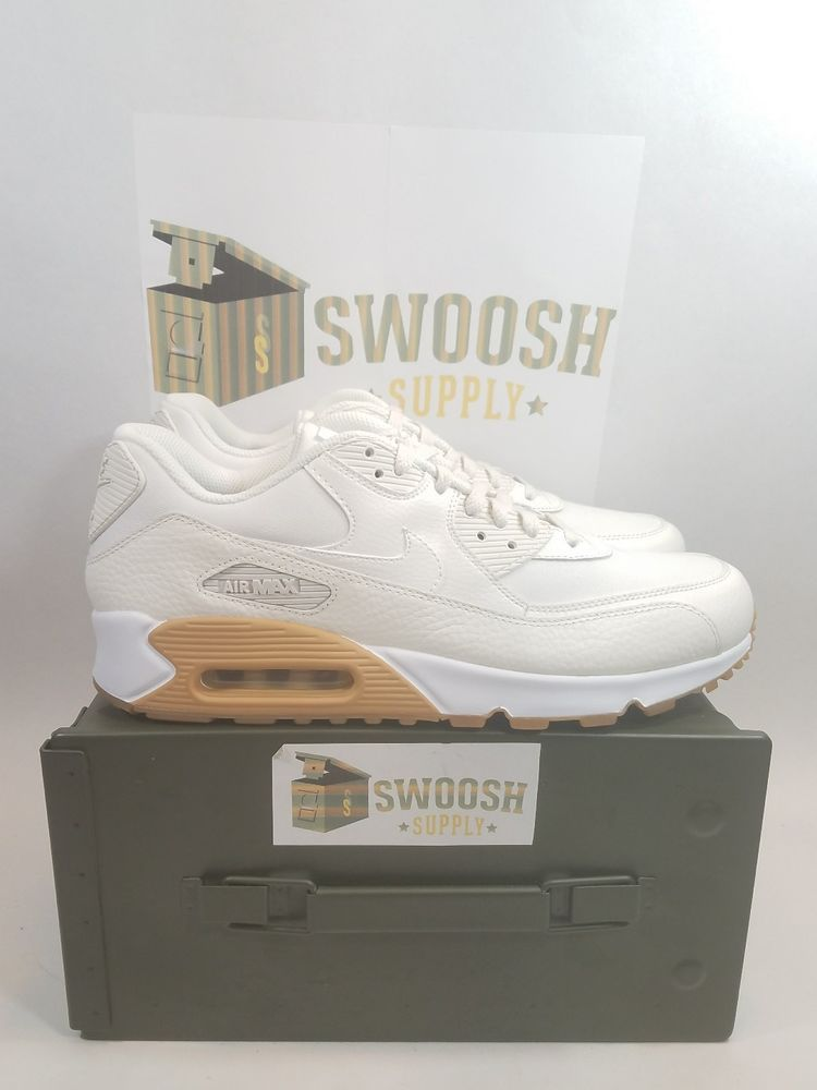 c5779ca8690 Nike Air Max 90 Premium Women s Running Shoes 896497-100 Size 12 Men s 10.5   Nike  RunningShoes