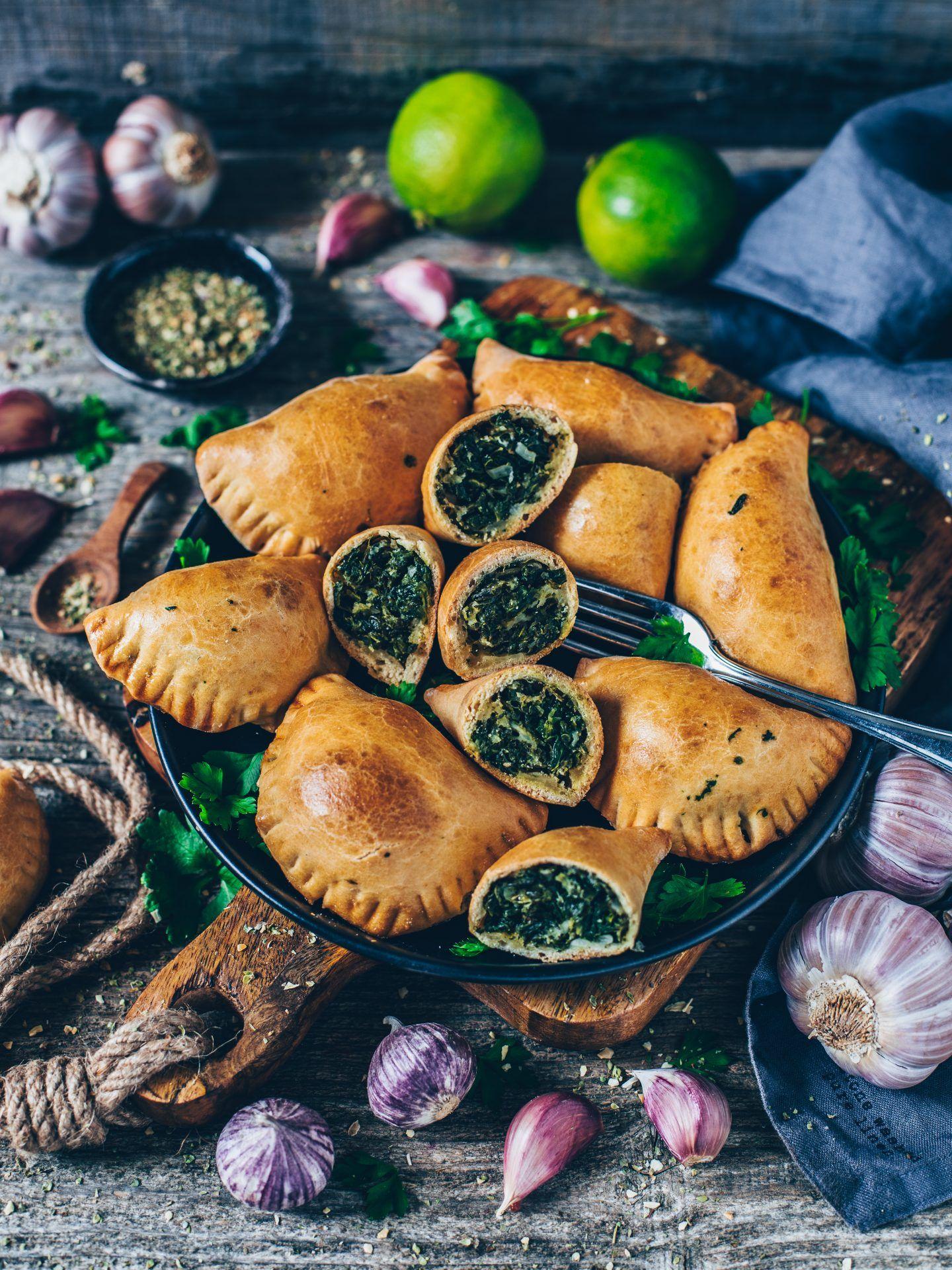 Empanadas mit Spinat (vegan) - Bianca Zapatka | Rezepte