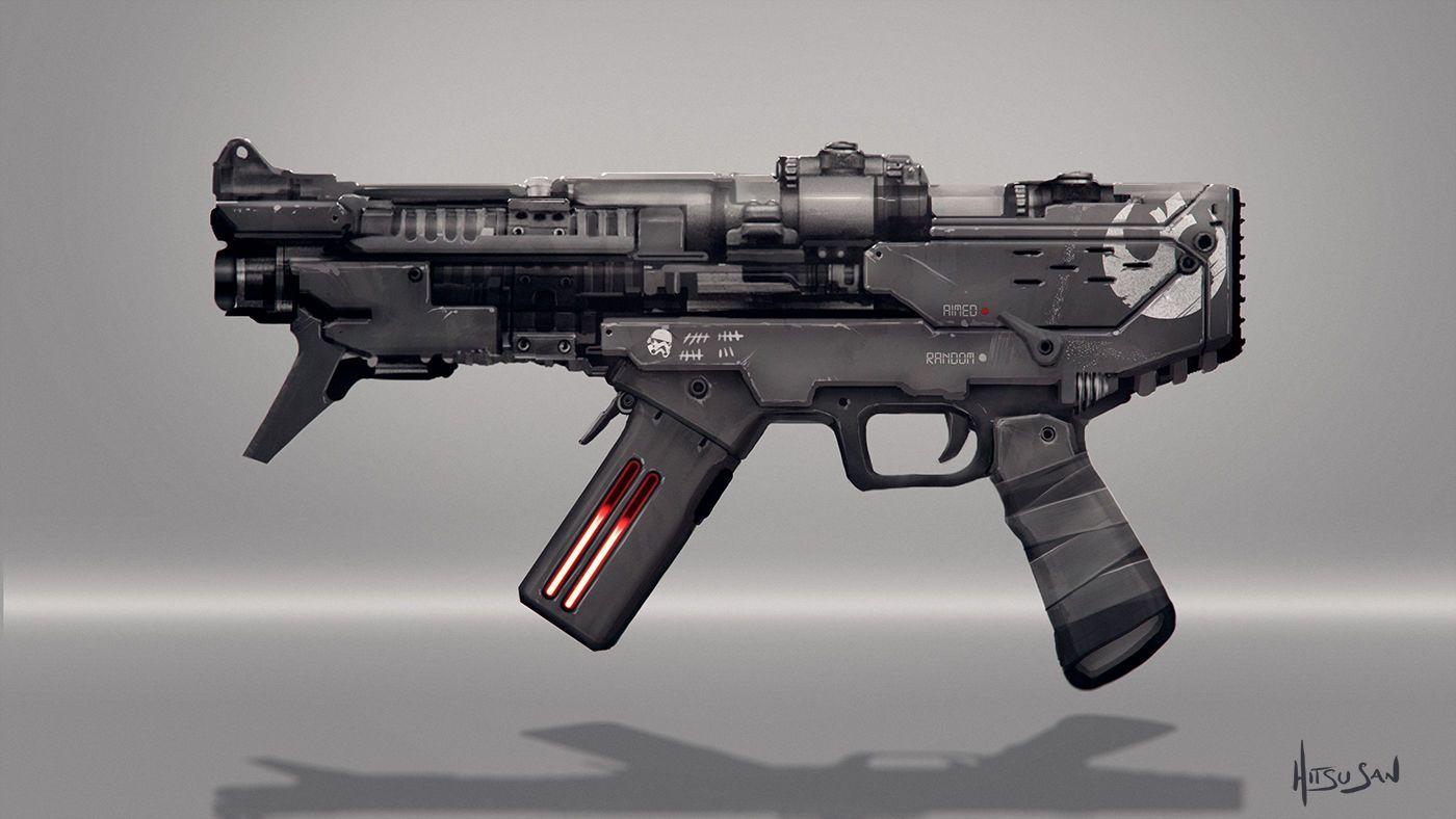 Rebel Machinegun - Star Wars Fan Art
