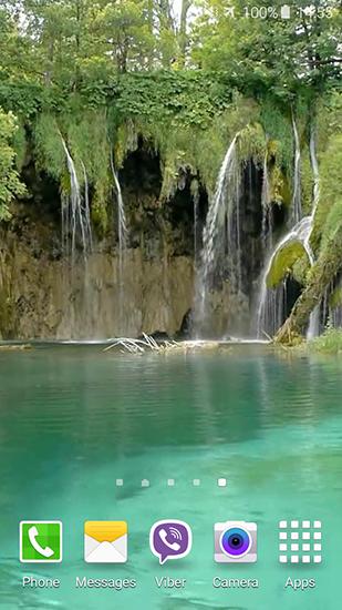 Telecharger Plitvice Waterfalls Gratuitement Les Cascades Fond D Ecran Android Fond Ecran Paysage