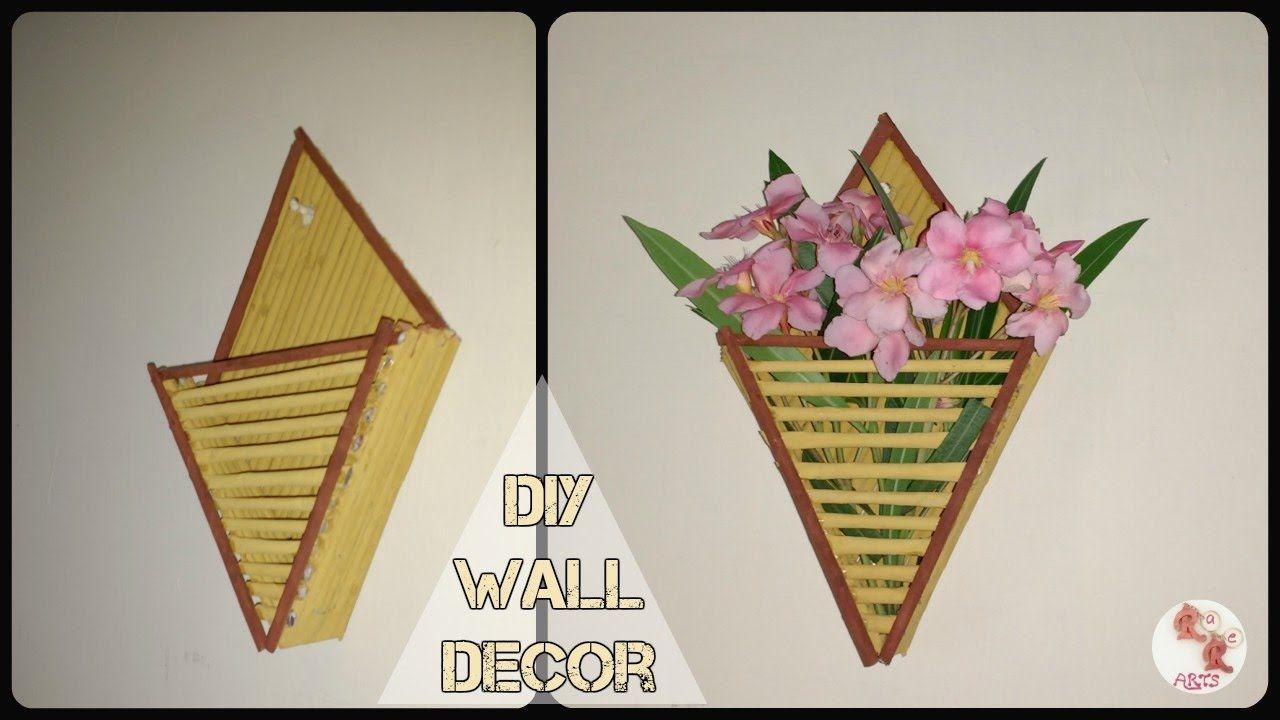 DIY Newspaper Wall Decor || Best From Waste || Wall Decor Ideas