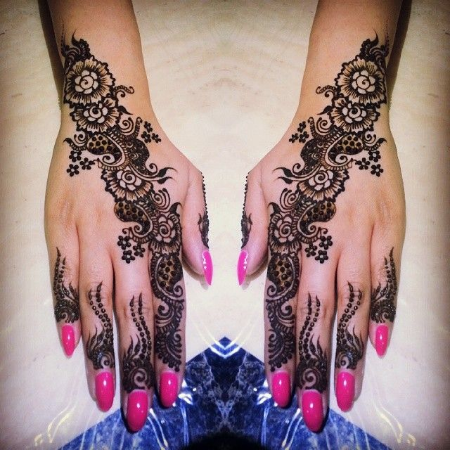 Mehndi Patterns Instagram : Henna mehndi on instagram makedes