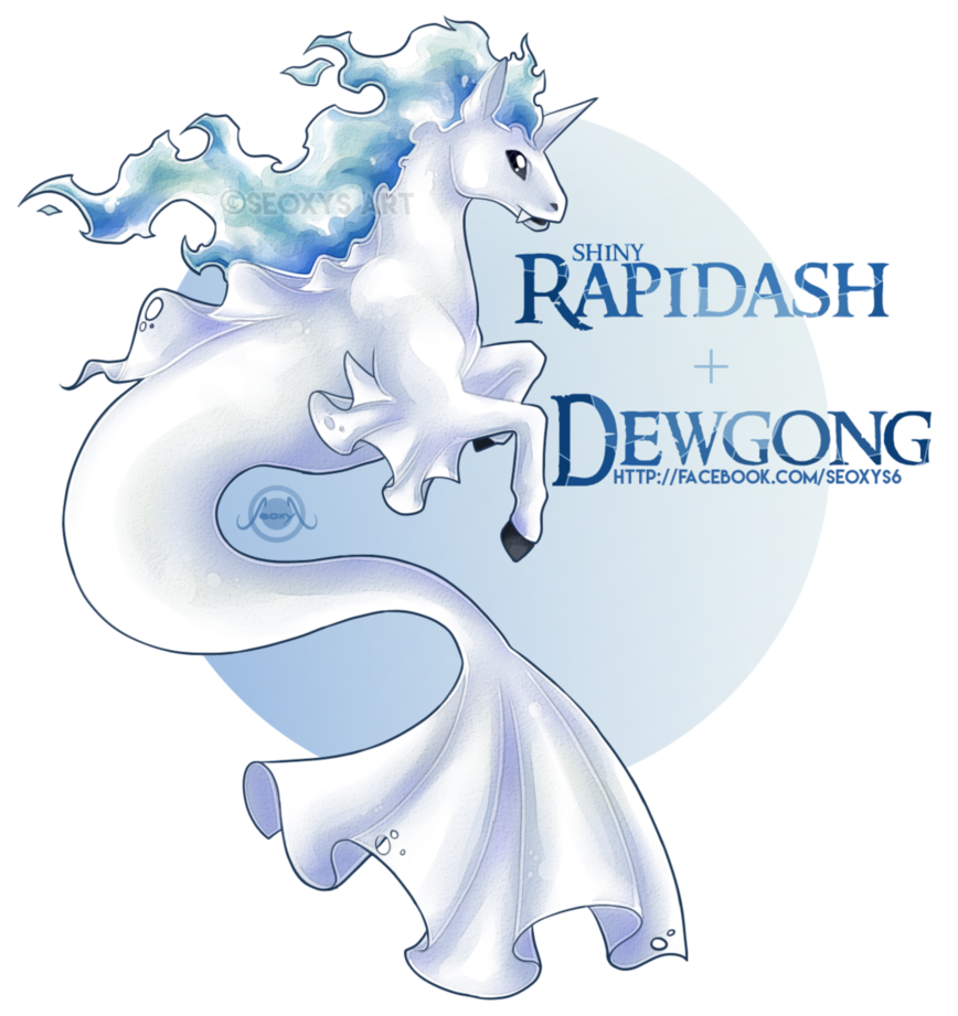 [OTA - CLOSED] Rapidash x Dewgong by Seoxys6 on DeviantArt