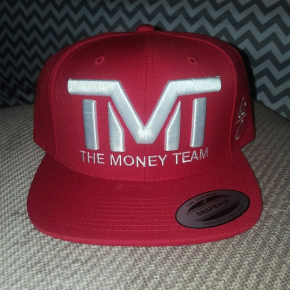 Hay Red snapback TMT hat tmt the money team  Accessories Hats