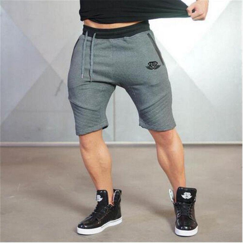2017 Hombres pantalones cortos de marca verano
