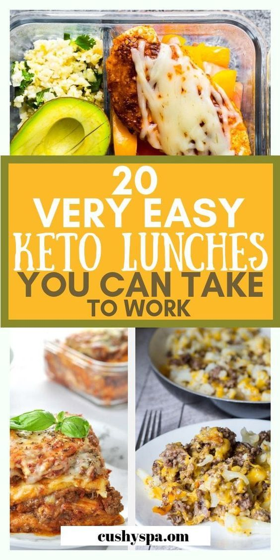 20 Easy Keto Lunch Ideas for Work You Have to Try images