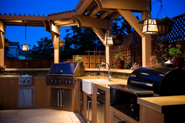 Information About Rate My Space Dream Backyard Outdoor Kitchen Backyard Kitchen