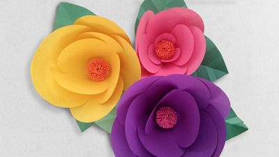 Online craft lessons do it yourself paper flowers paper flowers online craft lessons do it yourself paper flowers paper flowers add mightylinksfo Images