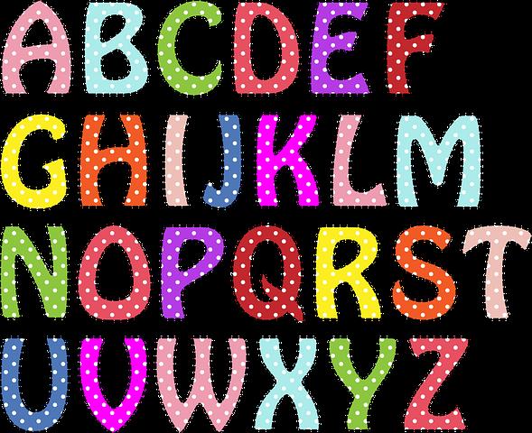 Huruf Abjad, Alfabet, Surat, Font Huruf, Tulisan, dan Gambar