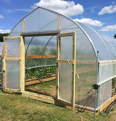 Gothic Tunnel Hoop Bender 14 Quick Hoops Johnny S Selected Seeds Backyard Greenhouse Greenhouse Build A Greenhouse