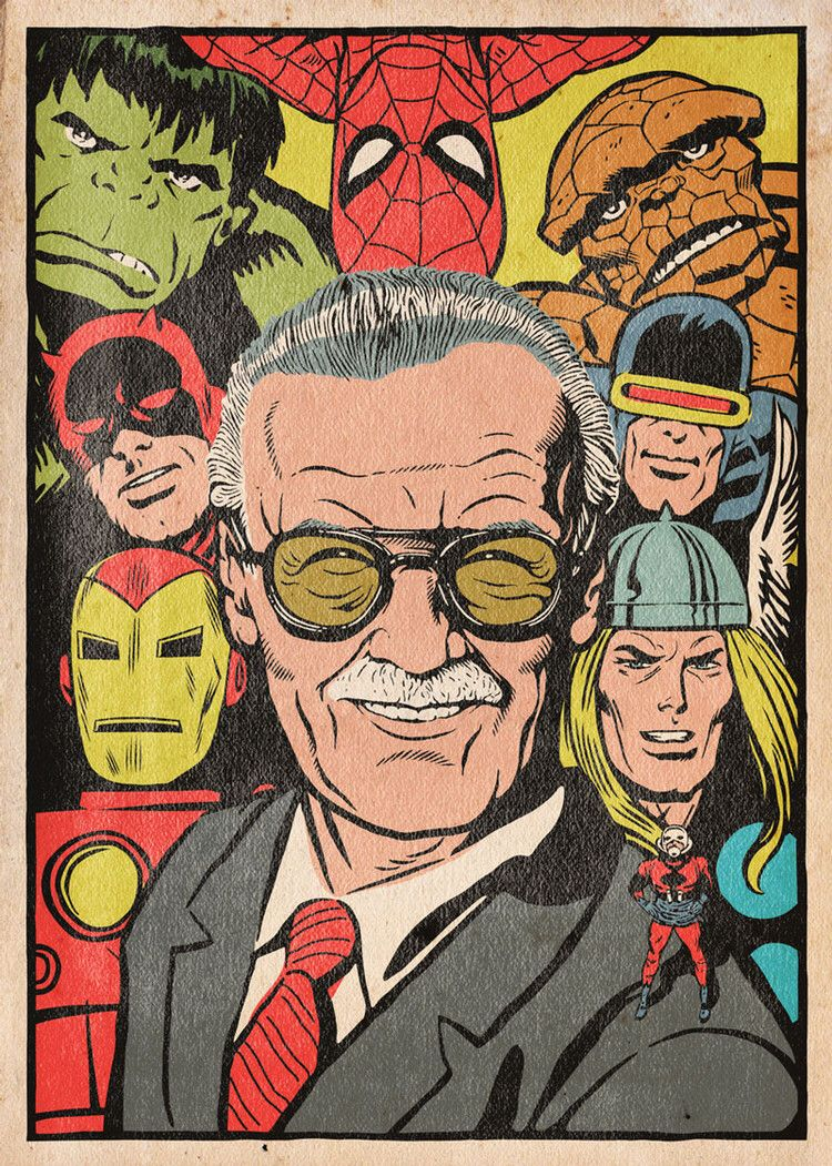 An Illustrated Tribute To Stan Lee And His Career Los Angeles Times Marvel Comics Marvel Superheroes Marvel Wallpaper