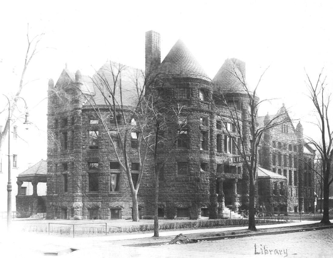 The Toledo Public Library (ca. 1925) Toledo-Lucas County Public Library - Images In Time
