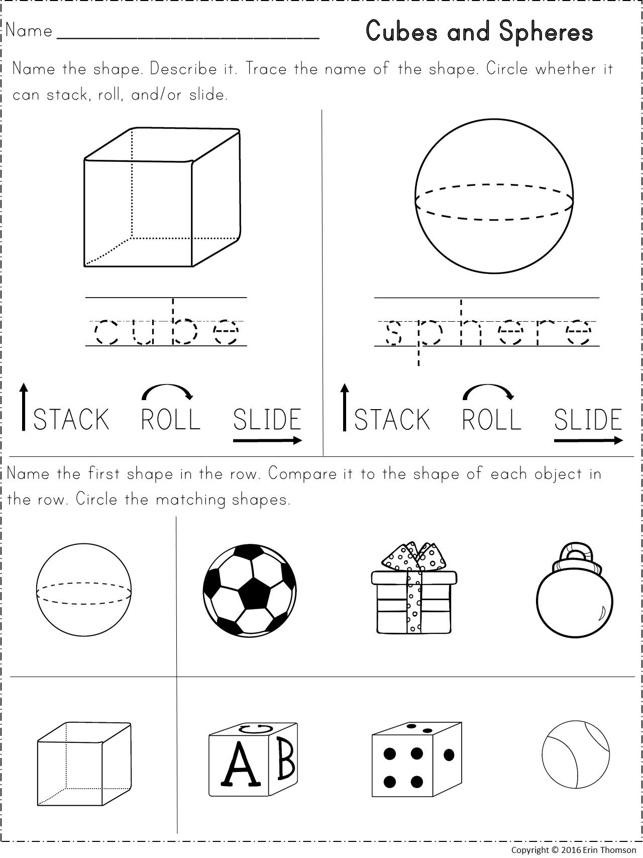 Kindergarten Math Shapes And Patterns