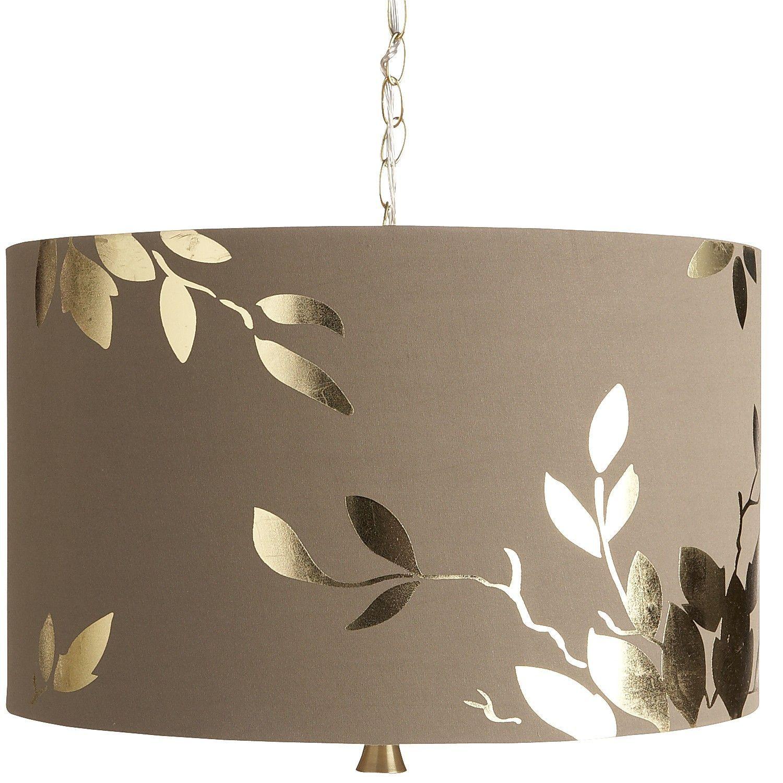 Gold Leaf Pendant Light Pier 1