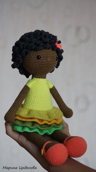 Doll crochet | Bonecas de crochê, Bonecas de croche amigurumi ... | 604x340