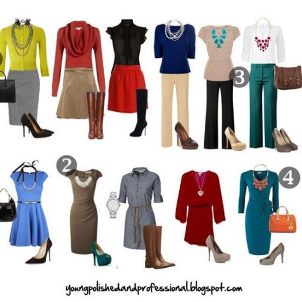 Business Casual for Women -- Without Being Overdressed #businesscasualoutfits