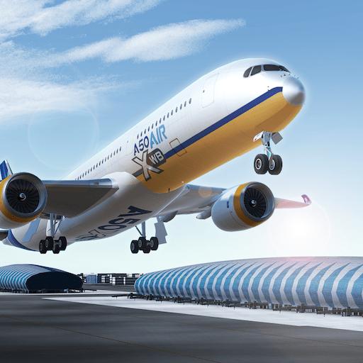 Airline Commander Uma Experiencia De Voo Real V1 2 6 Mod Apk Aeroportos Rotas Imagens De Satelite