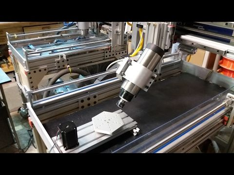 New Cnc 5th Axis Design For Cnc Router Part 1 Youtube