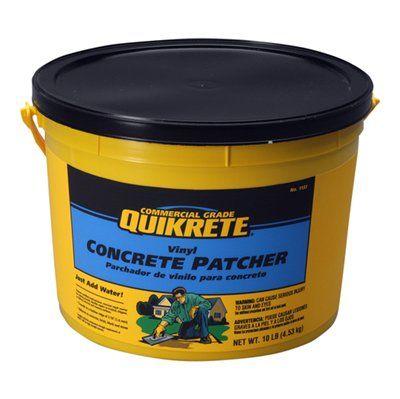 Quikrete 10 Lbs Vinyl Concrete Patch Concrete Repair