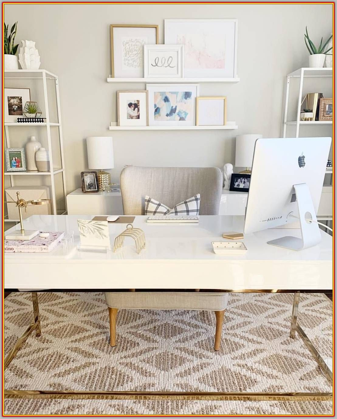 Furnish Your Home Office Decor With These Tips And Tricks Modern Interior Design Cozy Home Office Home Office Design Home Office Space