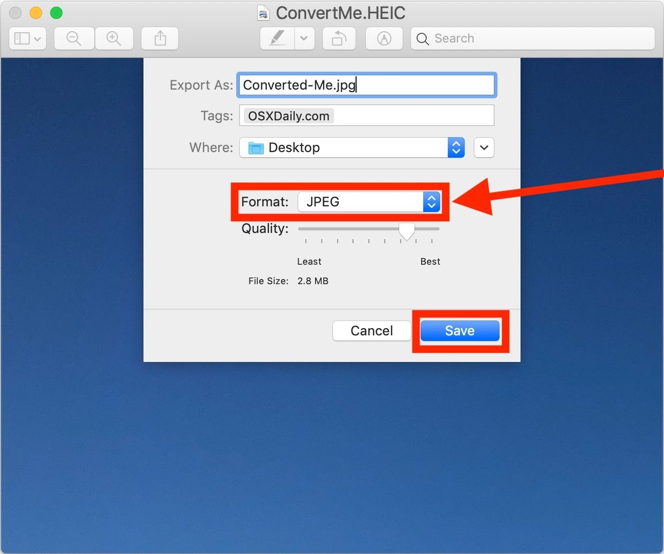 How To Convert Heic To Jpg On Mac Easily With Preview Converter Mac Iphone Pictures