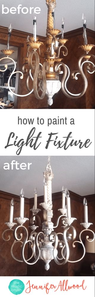 Photo of Paint Chandelier – Jennifer Allwood Home
