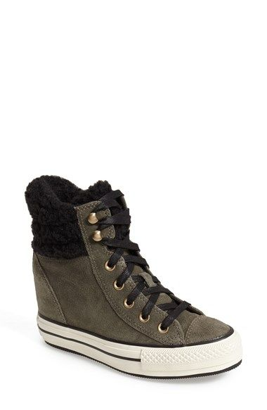 affaed55228c Converse Chuck Taylor® All Star® Faux Shearling High Top Platform Sneaker ( Women) available at  Nordstrom
