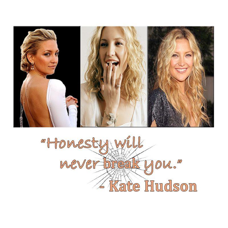 Kate Hudson #KateHudson #RoleModel #Celebrity #Quotes