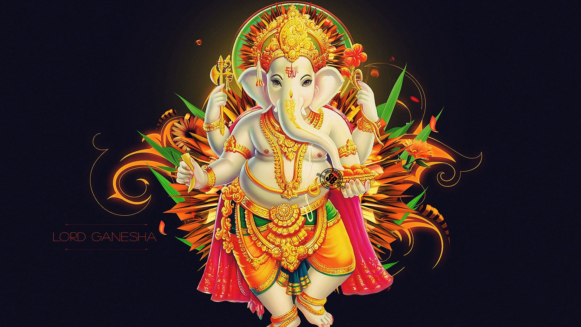 Hd Pics Photos Gods Cute Ganesh Chaturthi Desktop Background Wallpaper Ganesha Hanuman Wallpaper Ganesha Pictures